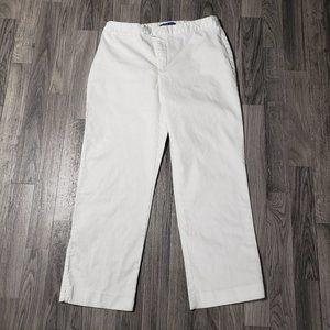 (3/$27) J.H Collectibles Stretch White Capri Pants